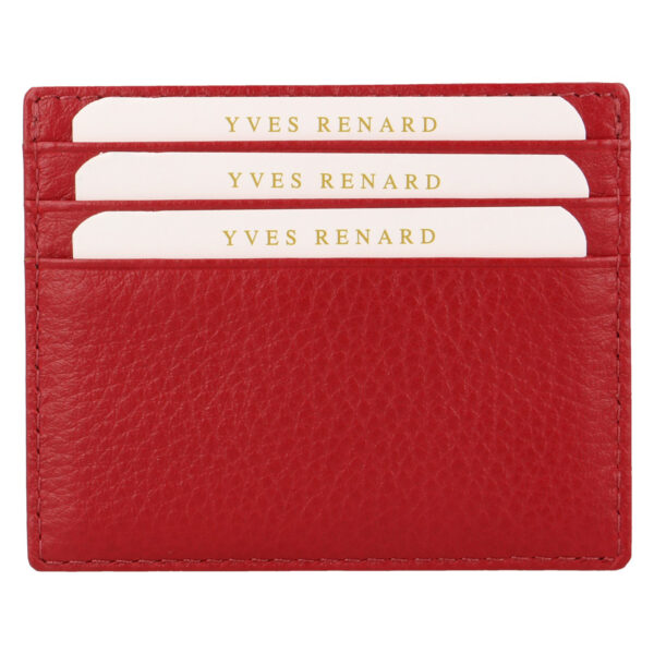 Yves Renard kaarthouder PC 232 red achterzijde