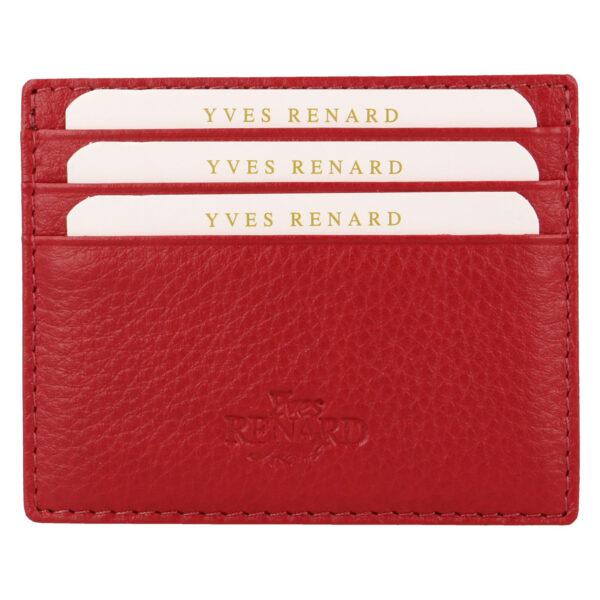 Yves Renard kaarthouder PC 232 red voorzijde