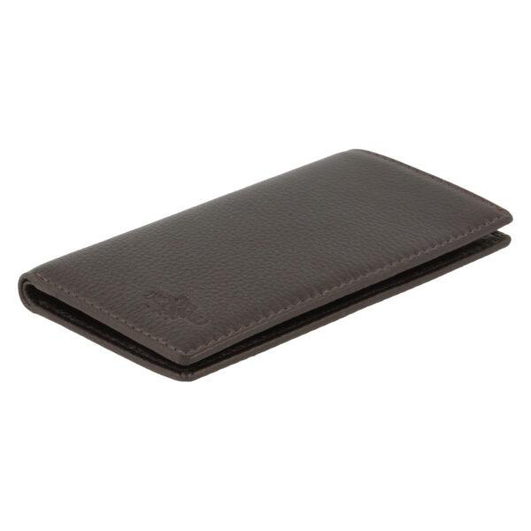 Yves Renard kaarthouder PC 236 brown schuine zijde