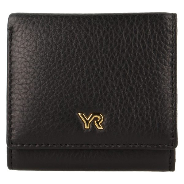 Yves Renard damesportemonnee PM 29808 black voorzijde