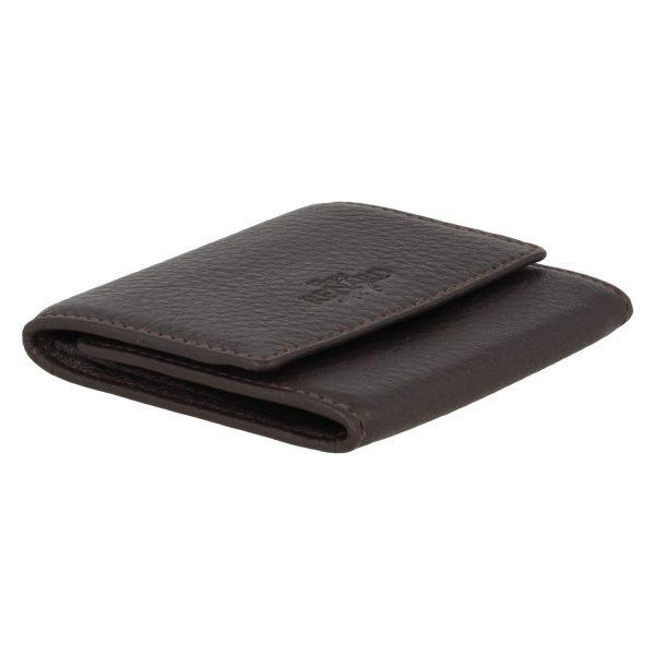 Yves Renard geldbeugel PM 23809 brown schuine zijde