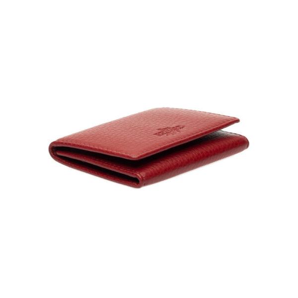 Yves Renard kaarthouder PC 238 red schuine zijde