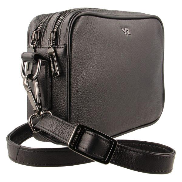 Yves Renard camerabag YR 60100 black schuine zijde