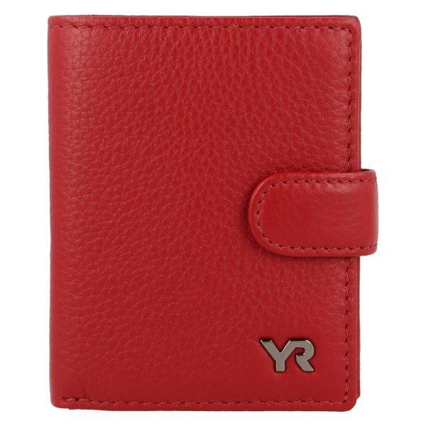 Yves Renard damesportemonnee PC 2932 red voorzijde