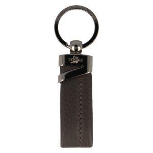 Yves Renard sleutelhanger YR 2328 brown voorzijde