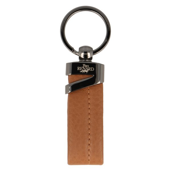 Yves Renard sleutelhanger YR 2328 camel voorzijde