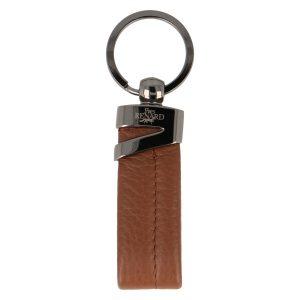 Yves Renard sleutelhanger YR 2328 cognac voorzijde