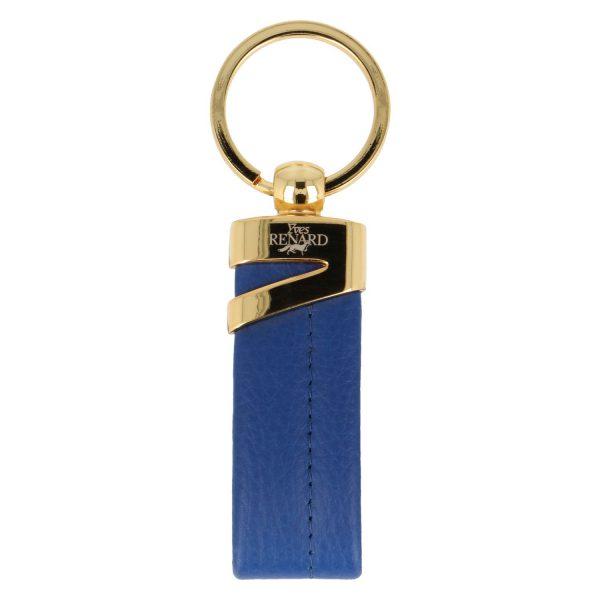 Yves Renard sleutelhanger YR 2329 cobalt voorzijde