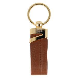 Yves Renard sleutelhanger YR 2329 cognac voorzijde